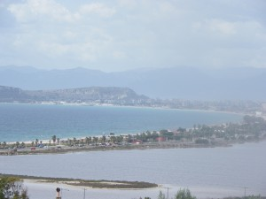vista sul golfo di Cagliari