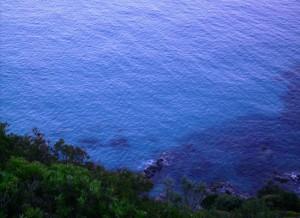 Una caletta lungo la costa Villasimius - Costa Rey