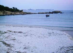 Cala Pira, tra Villasimius e Costa Rey